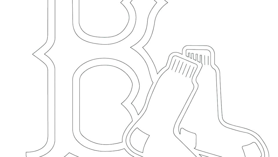 960x544 Boston Red Sox Coloring Pages Baseball Coloring Page Boston Red
