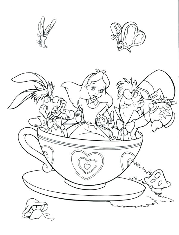 600x789 Boston Tea Party Coloring Page Tea Party Coloring Page