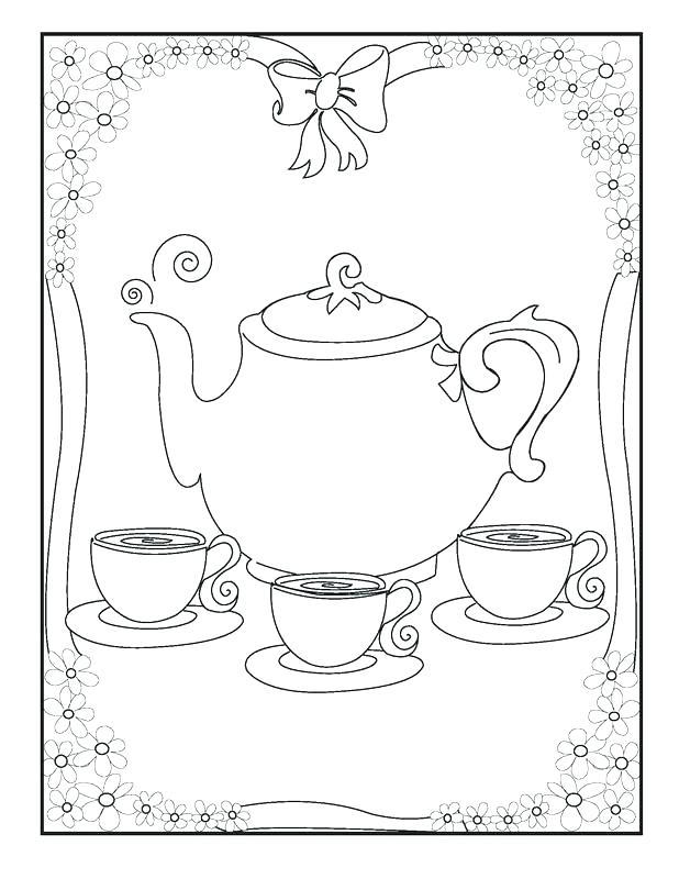 618x800 Boston Tea Party Coloring Pages Printable Preschool