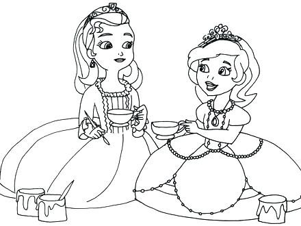 440x330 Boston Tea Party Coloring Pages Tea Party Coloring Pages The First