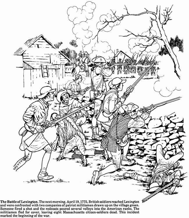 650x750 Coloring Coloring Pages Lineart Revolutionary War On Civil