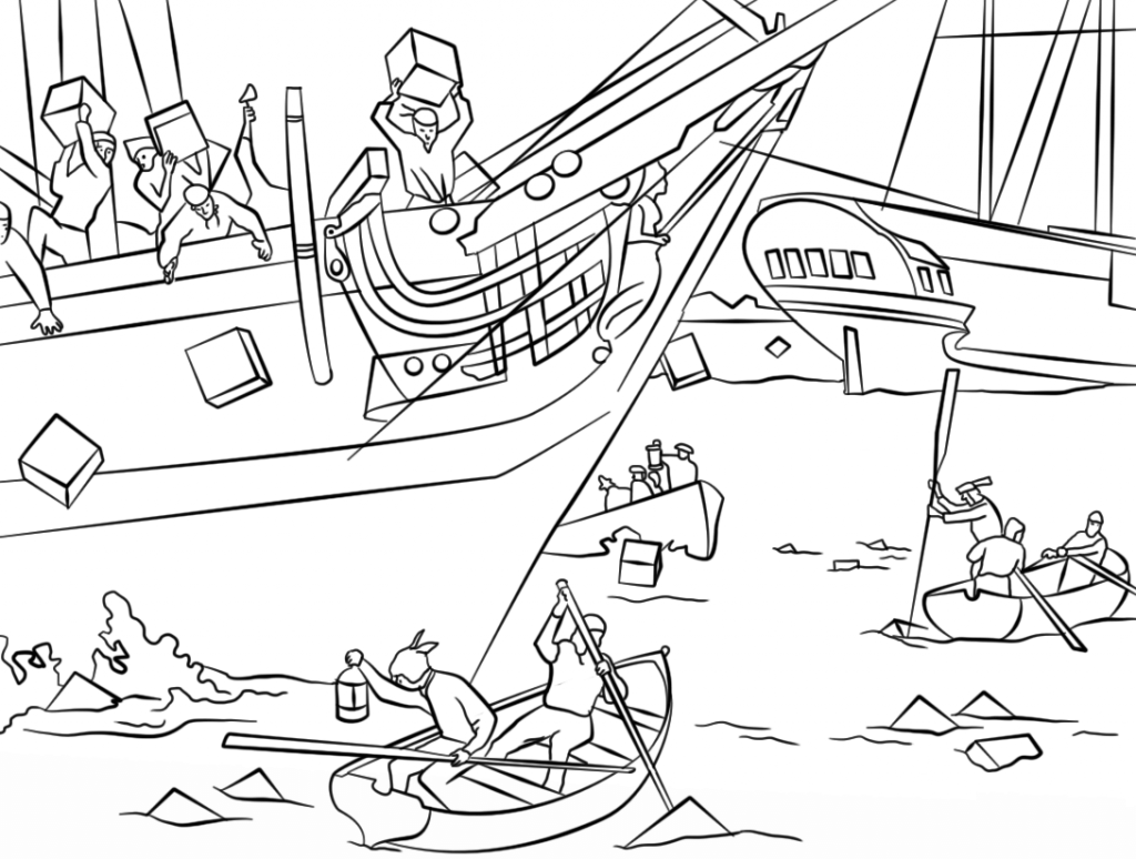 1024x774 American Revolutionary War History Colonies Map Coloring Pages