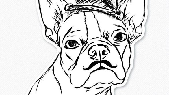 585x329 Sure Fire Boston Terrier Coloring Pages Page Free Printable
