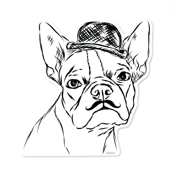 600x600 Free Printable Boston Terrier Coloring Pages