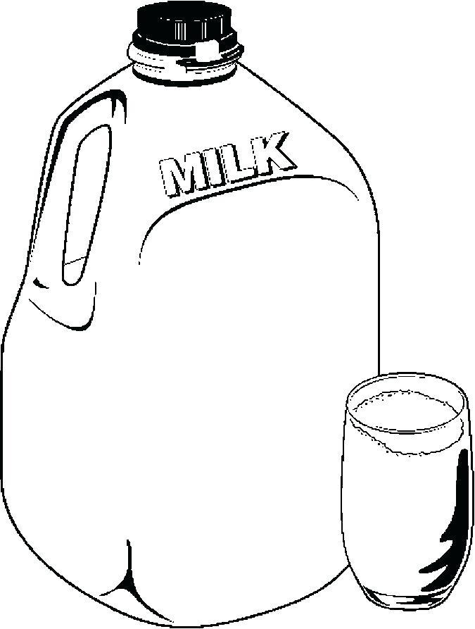 675x893 Milk Coloring Page Milk Coloring Page Milk Jug Coloring Page Milk