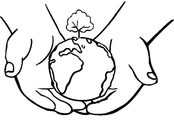 600x456 Earth Coloring Pages Printable Earth Coloring Pages Water Bottle