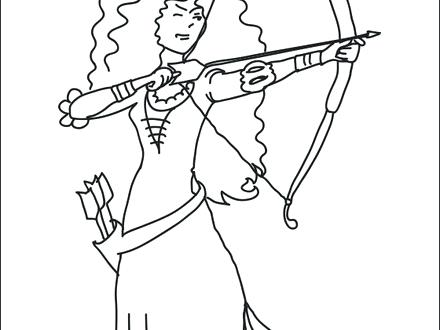 440x330 Cupid Bow And Arrow Coloring Page Pages Free Of Tie With Arrows S