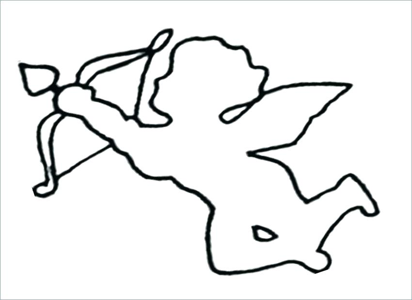 850x620 Bow And Arrow Coloring Pages