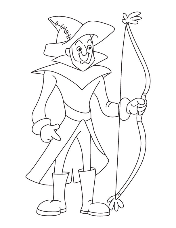 612x792 Bow Coloring Pages Beautiful Pound Bow And Arrow Coloring Coloring