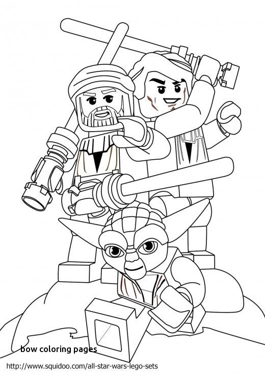 Bow Coloring Pages