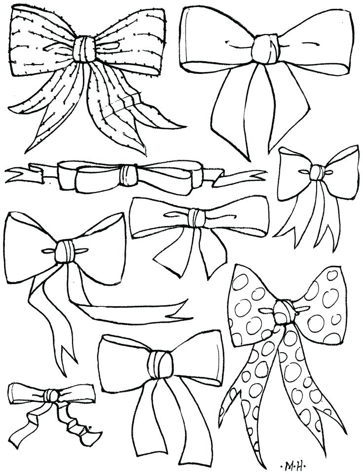 736x961 Bows Coloring Pages Share Bow Tie Coloring Pages Bows Coloring