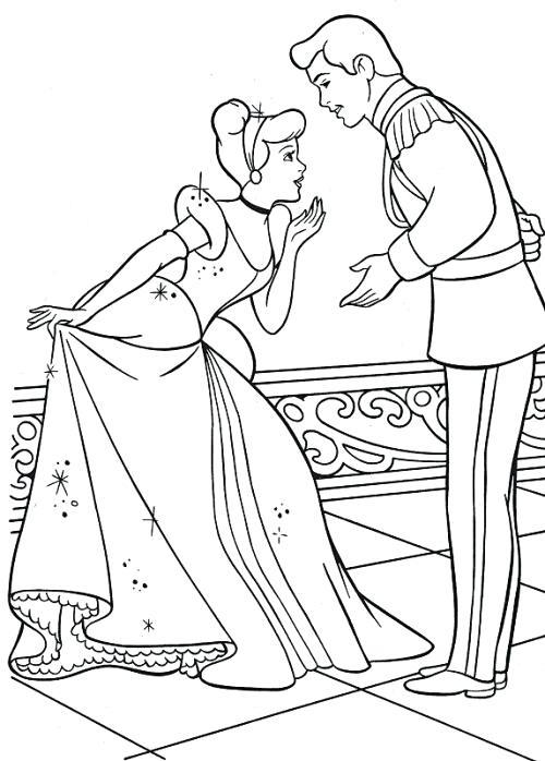 500x698 Cinderella Coloring Pages Take A Bow Coloring Page Cinderella