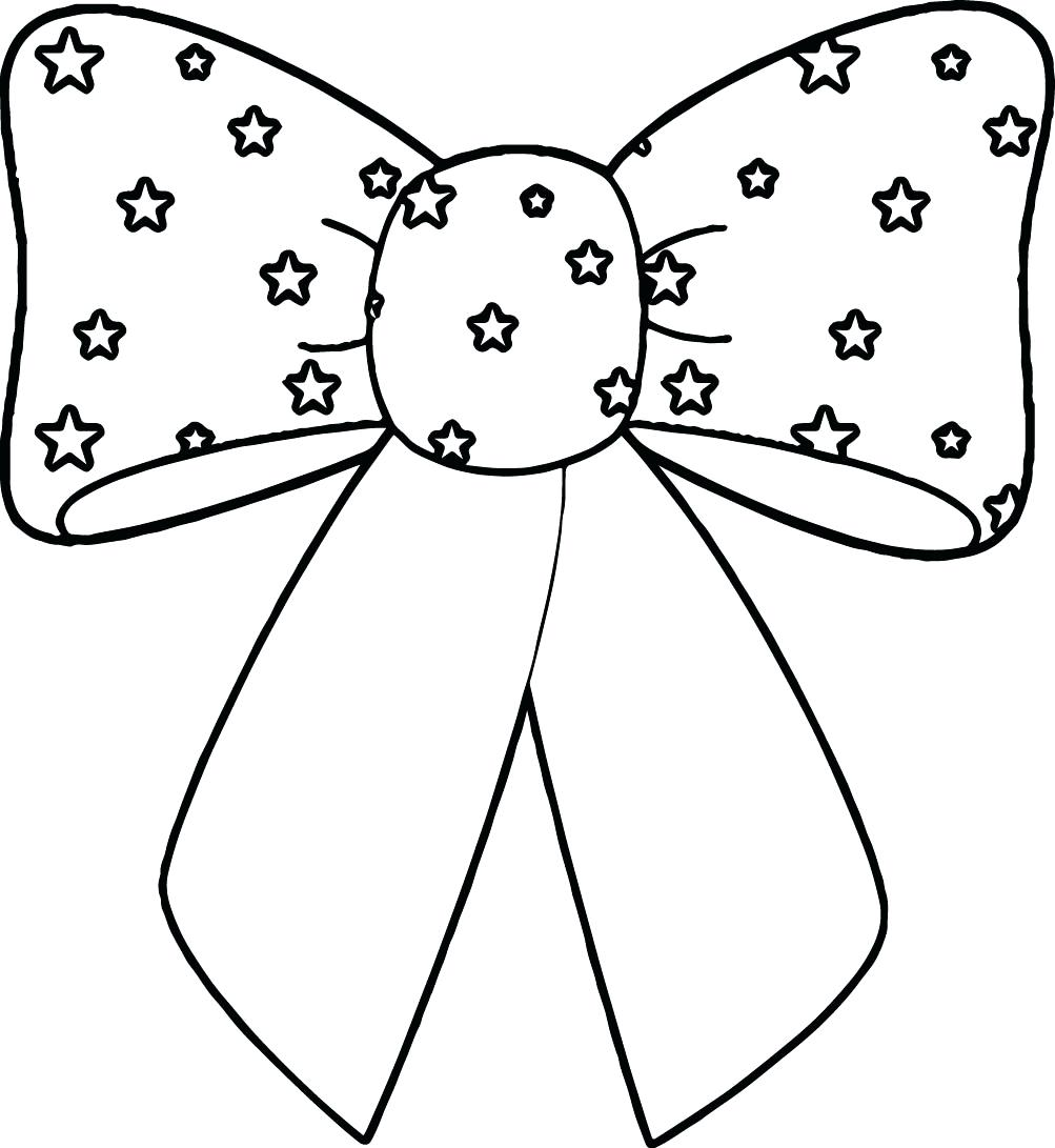 1003x1091 Impressive Bow Coloring Pages Page