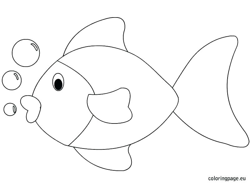 804x595 Astounding Bow Coloring Page One Fish Two Fish Red Fish Blue Fish