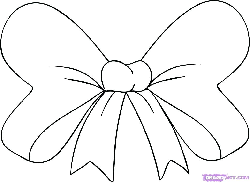 1033x757 Minnie Mouse Bow Coloring Pages Mouse Outline Coloring Pages