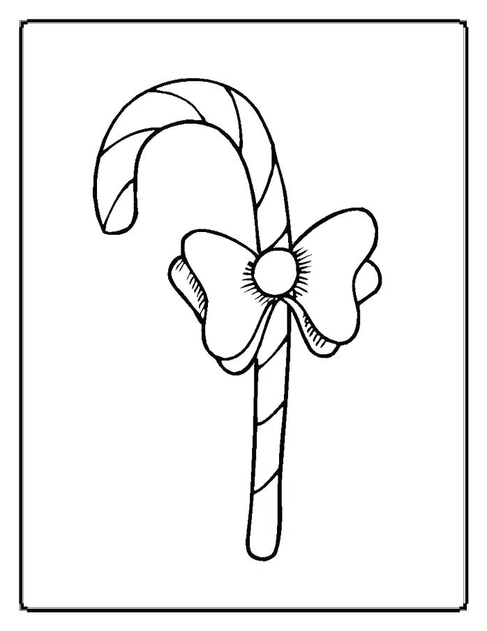 698x903 Bow Coloring Page Bow Coloring Page Coloring Pages Candy Cane