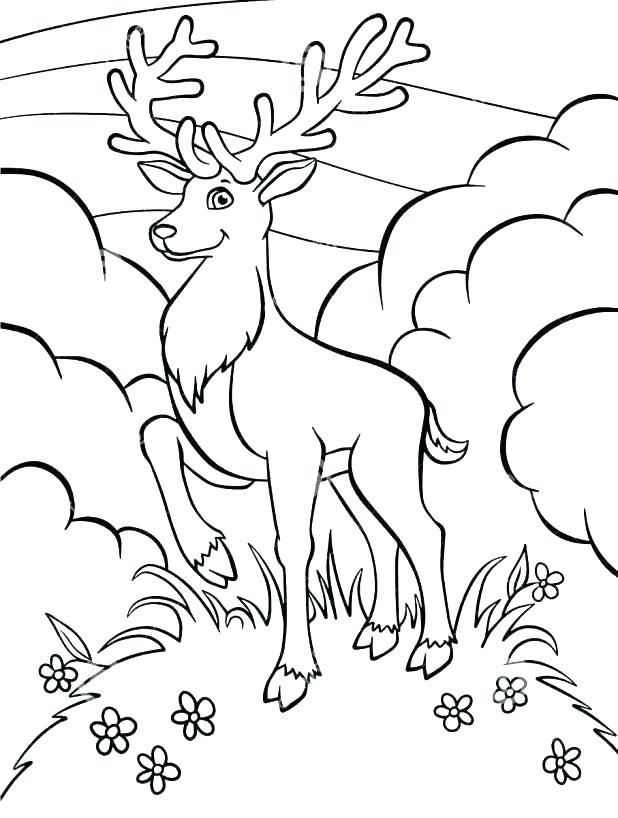 618x818 Deer Hunter Coloring Pages Deer Hunting Coloring Pages Fabulous