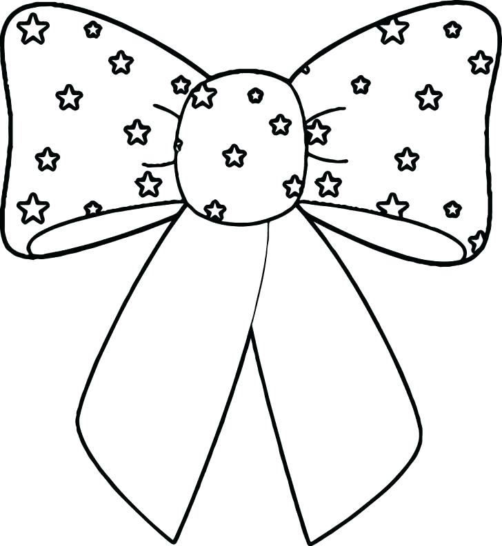728x792 Bows Coloring Pages Bow Tie Coloring Printable Page Flaming Soccer