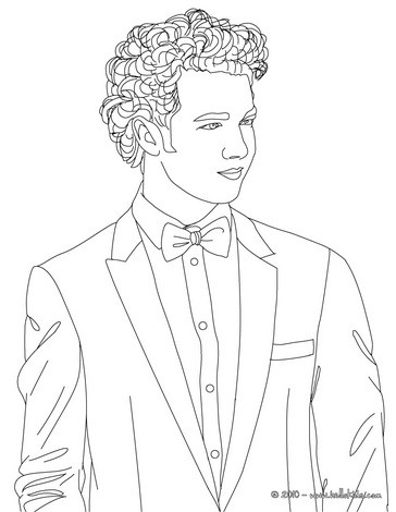 364x470 Kevin Jonas Coloring Pages