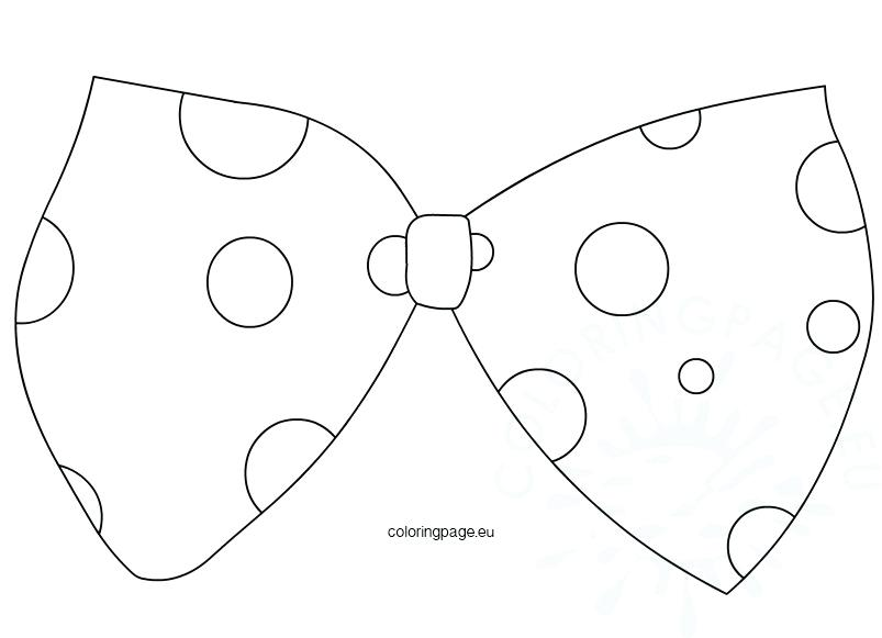 803x581 Large Clown Bow Tie Template Coloring Page Large Clown Bow Tie