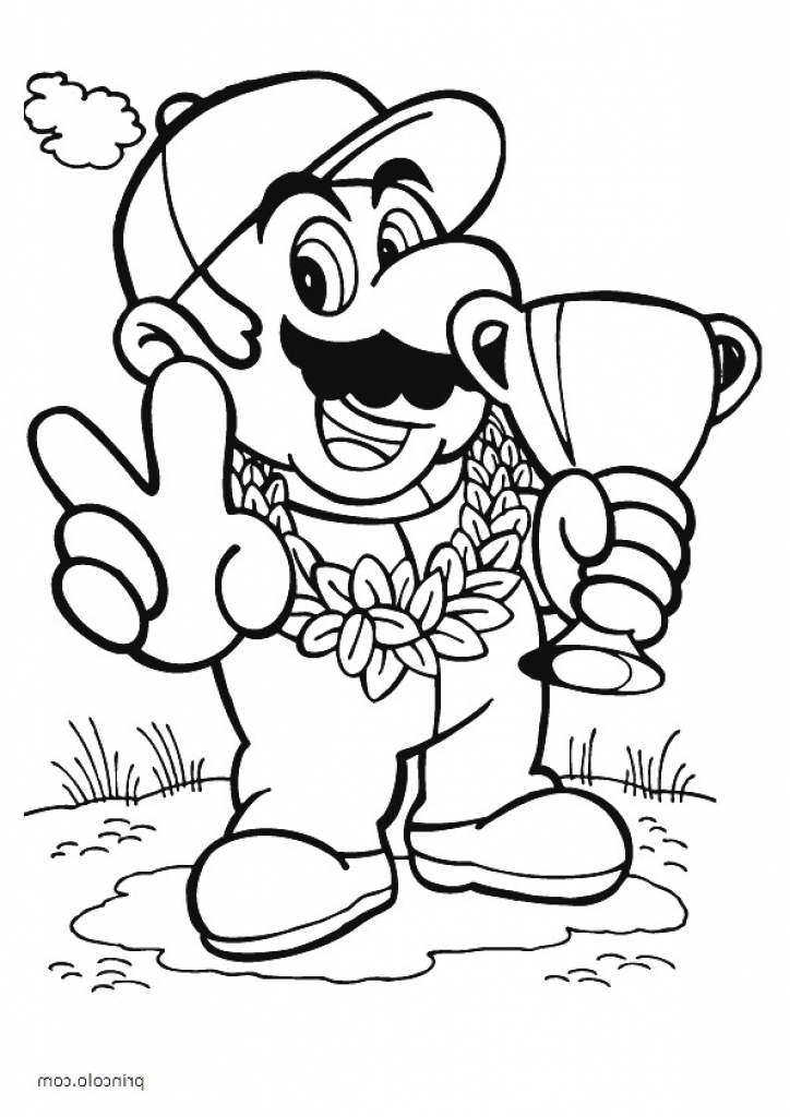 Bowser Coloring Page At Getdrawings Free Download