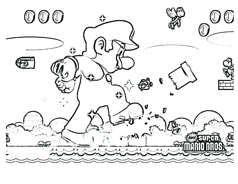 1000x773 Bowser Coloring Page Bros Coloring Pages Brothers Coloring Page
