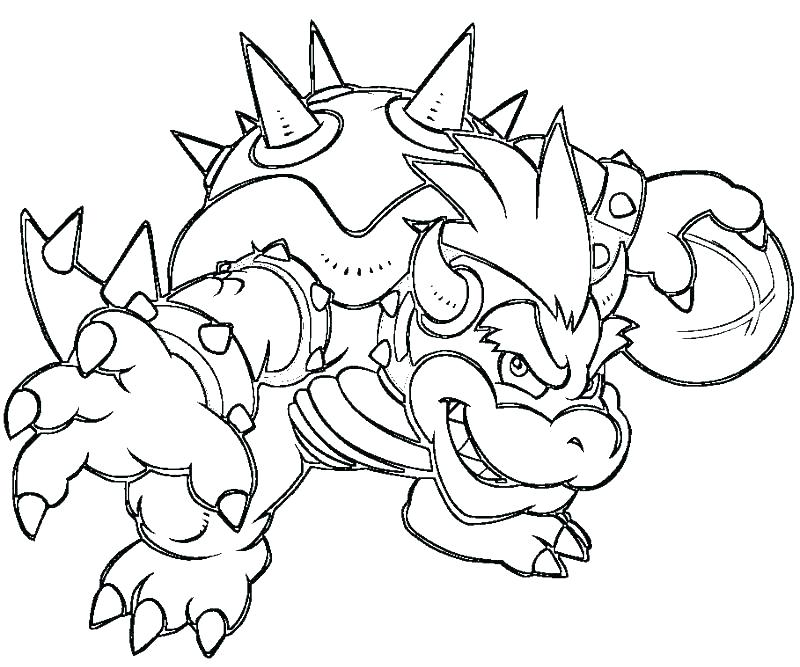 800x667 Bowser Coloring Pages Coloring Pages Dry Coloring Pages Dry