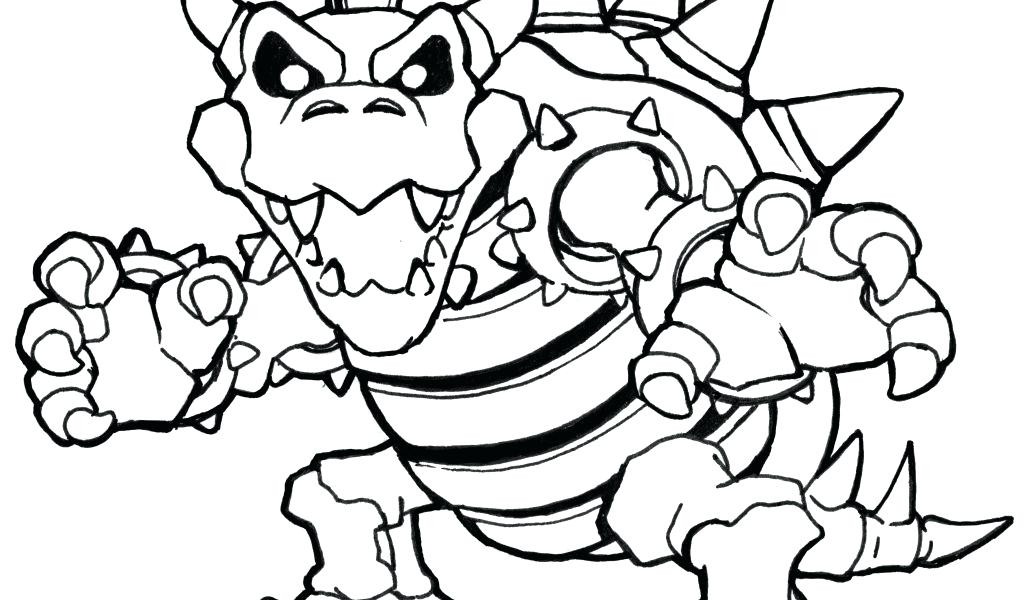 bowser jr coloring pages at getdrawings free
