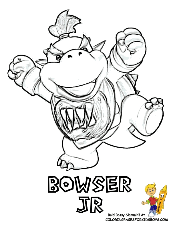 bowser jr coloring pages printable.html