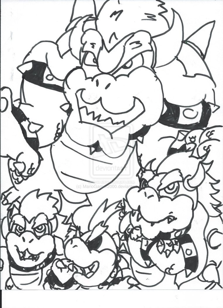 762x1048 Mario Coloring Pages Bowser Jr New Bowser Coloring Pages Fresh