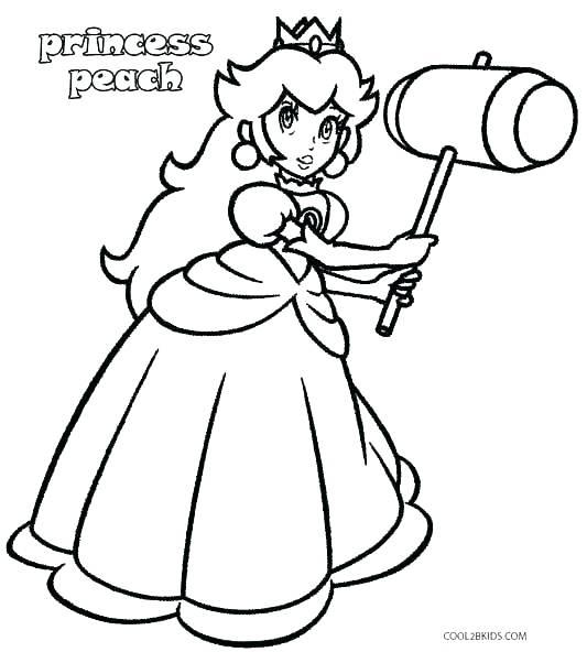 533x592 Bowser Coloring Page Coloring Page Coloring Page Princess Peach