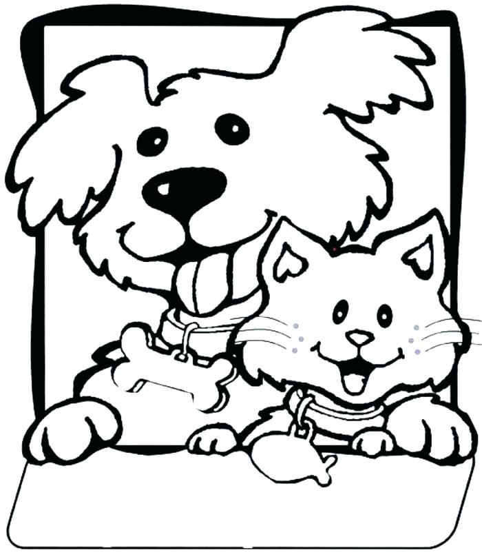 700x811 Printable Dog Coloring Pages Coloring Pages Of Dog Coloring Pages