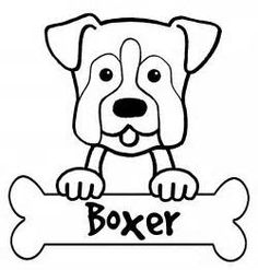 236x247 Coloring Pages Of Boxer Dogs How To Draw A Dog Fun Drawing