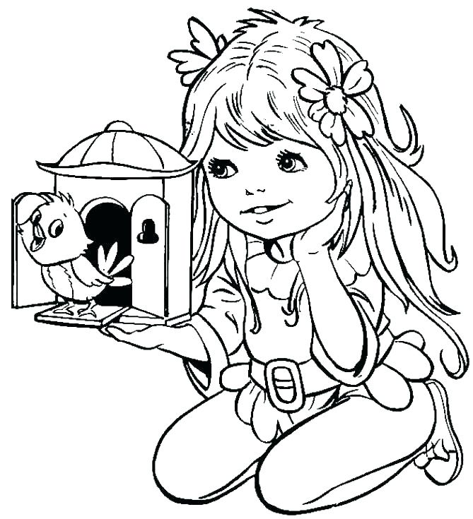 669x735 Boy And Girl Coloring Pages Boy And Girl Ring Pages Gingerbread