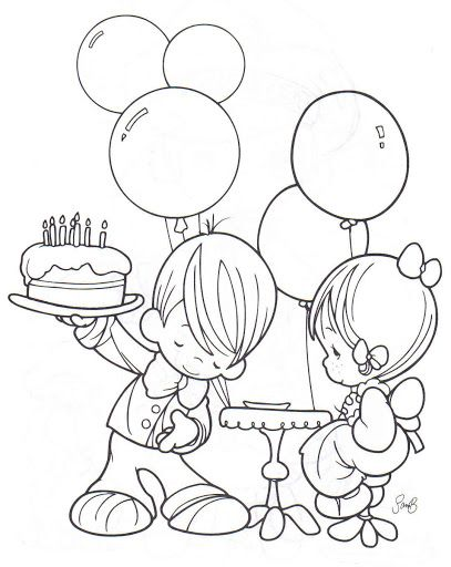 407x512 Precious Moments Coloring Pages