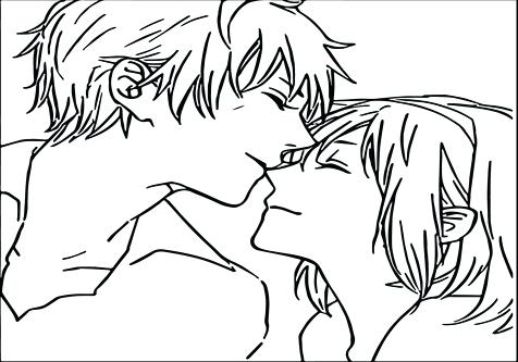 476x333 Top Rated Boy And Girl Coloring Pages Pictures Anime Boy And Girl