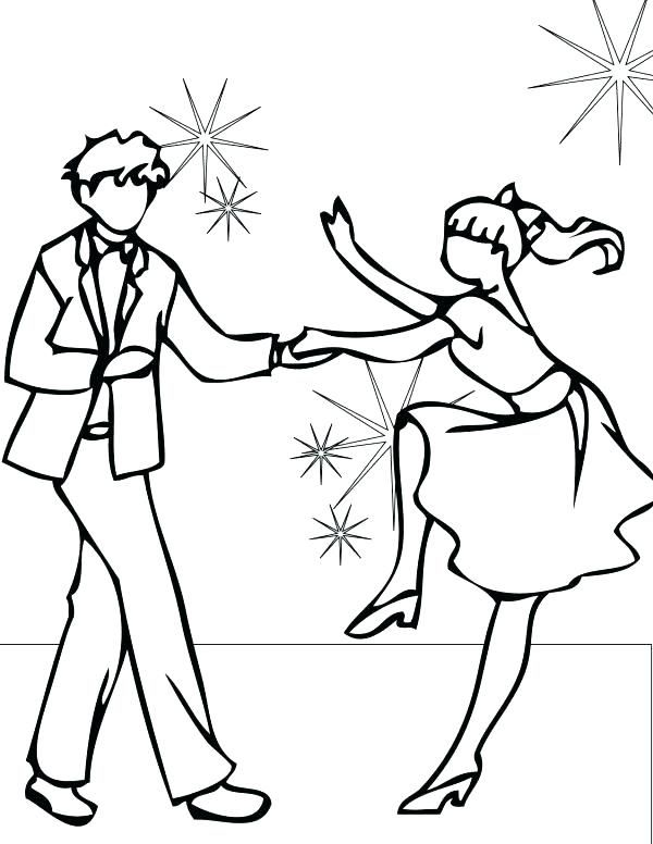 600x776 Dance Colouring Pages Jazz Coloring Pages Dance Coloring Pages