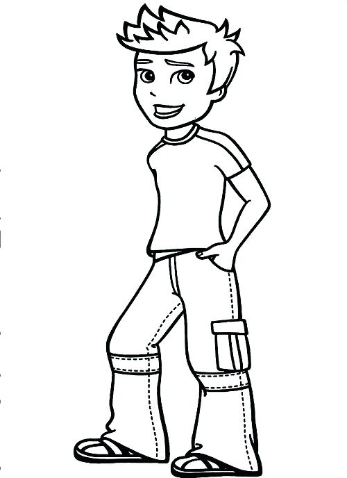 500x688 Printable Boy Coloring Pages Coloring Me Boy Coloring Pages Hip