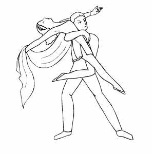 300x300 Boy Getting Partner Up R Coloring Page