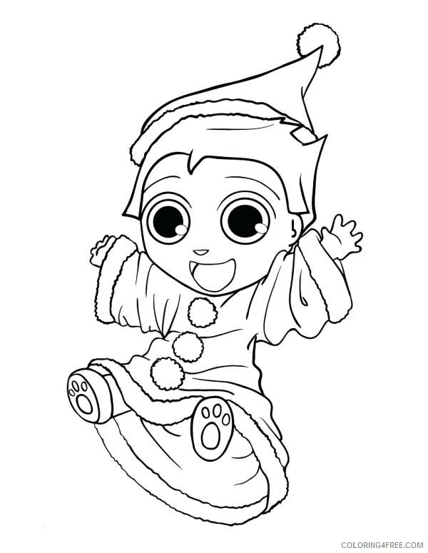 600x775 Fresh Elf Coloring Pages For Kids For Elf Coloring Page Color
