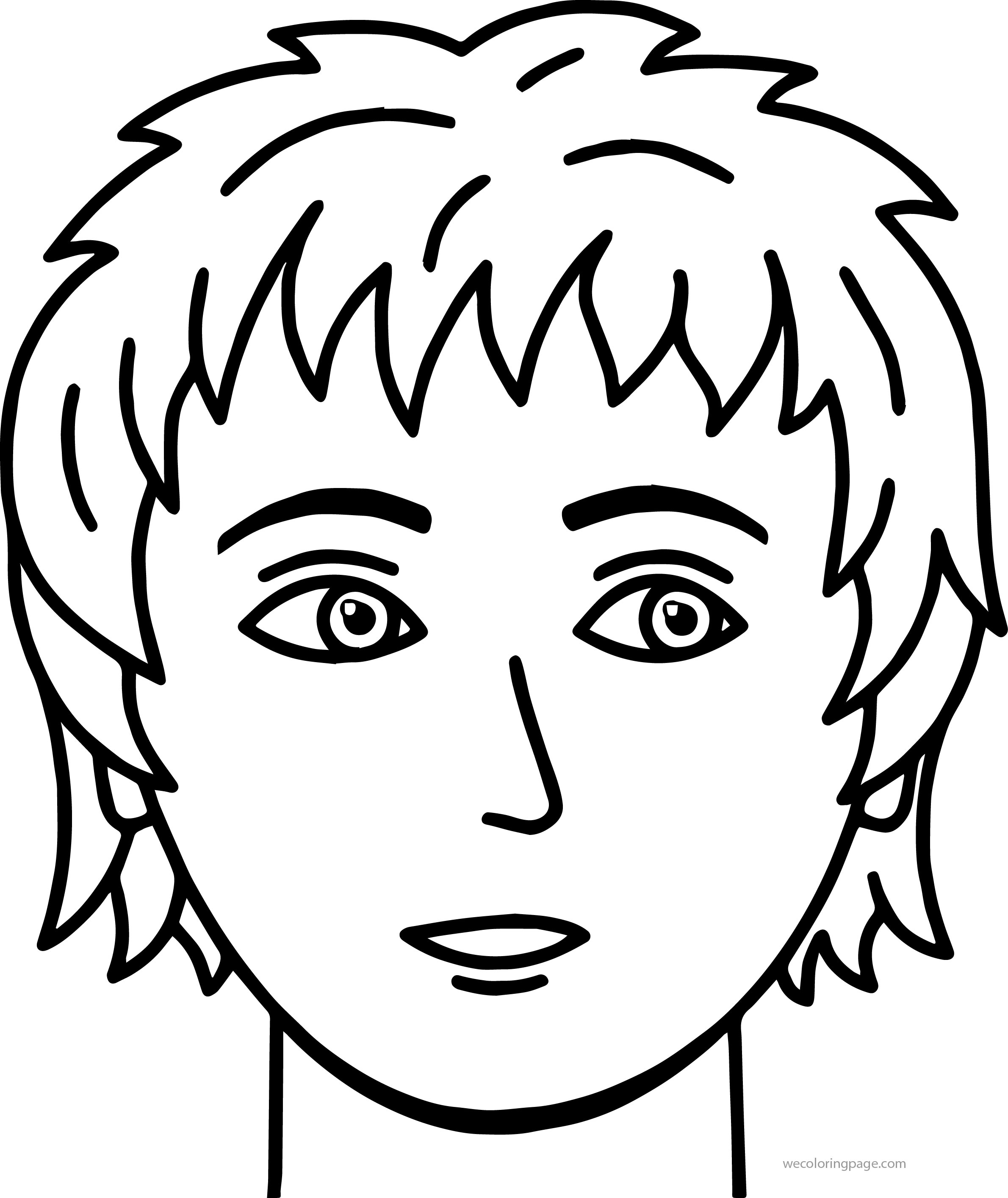 2380x2828 Face Coloring Pages Collection Free Coloring Sheets