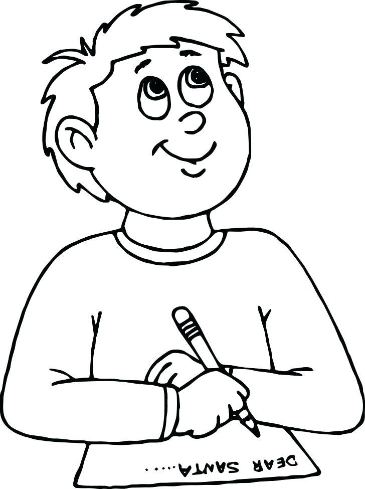 728x975 Santa Face Coloring Page Face Coloring Page Dear Write Boy