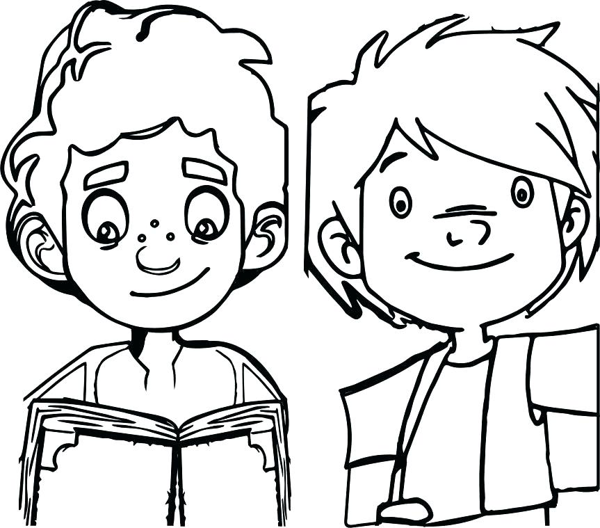 863x759 Two Face Coloring Pages Coloring Pages The Little Knight Two Boy