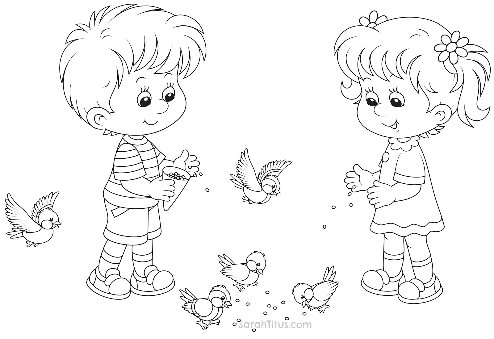1600x1098 Coloring Pages Of Boys And Girls Outline A Boy Girl