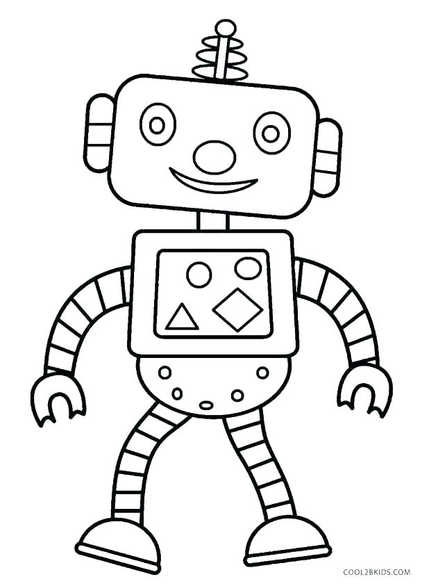 618x843 Coloring Pages Robot Coloring Books To Print Robot Coloring Pages