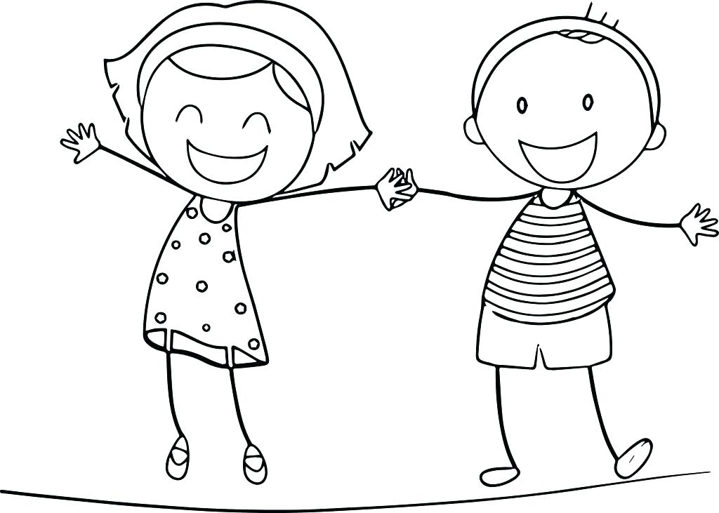 1024x731 Free Coloring Pages Boy And Girl Of Boys For Basketball Fuhrer