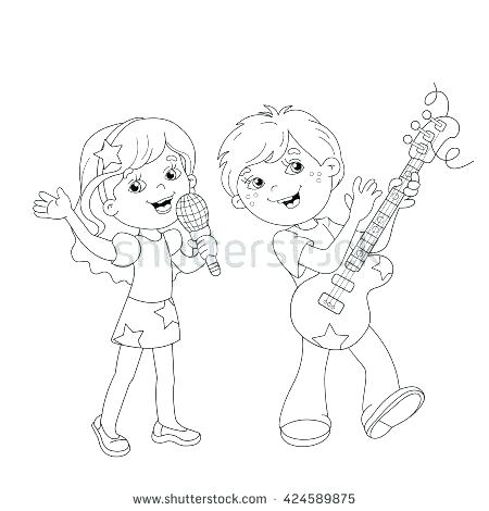 450x470 Boy And Girl Coloring Page Star Coloring Pages Boy Girl Best