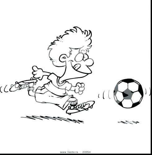 490x500 Soccer Ball Coloring Pages Medium Size Of Soccer Ball Coloring