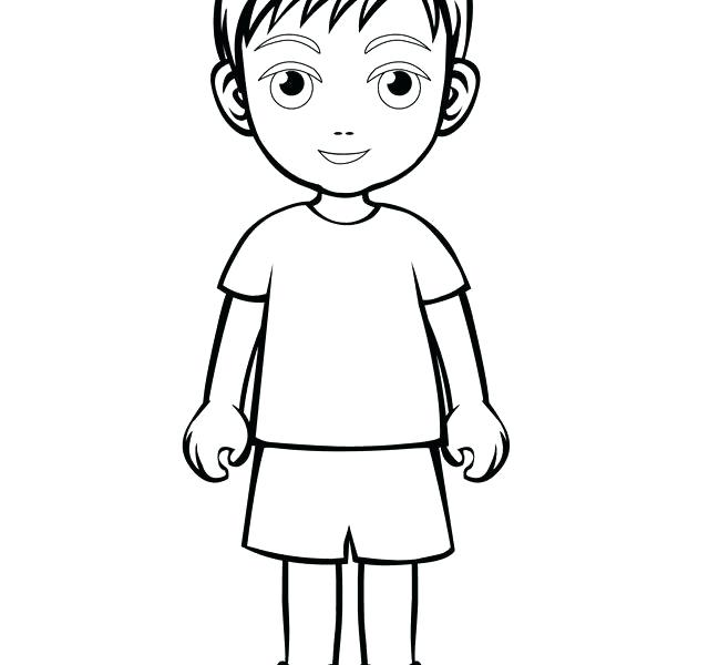 Boy Running Coloring Page at GetDrawings.com | Free for personal use ...