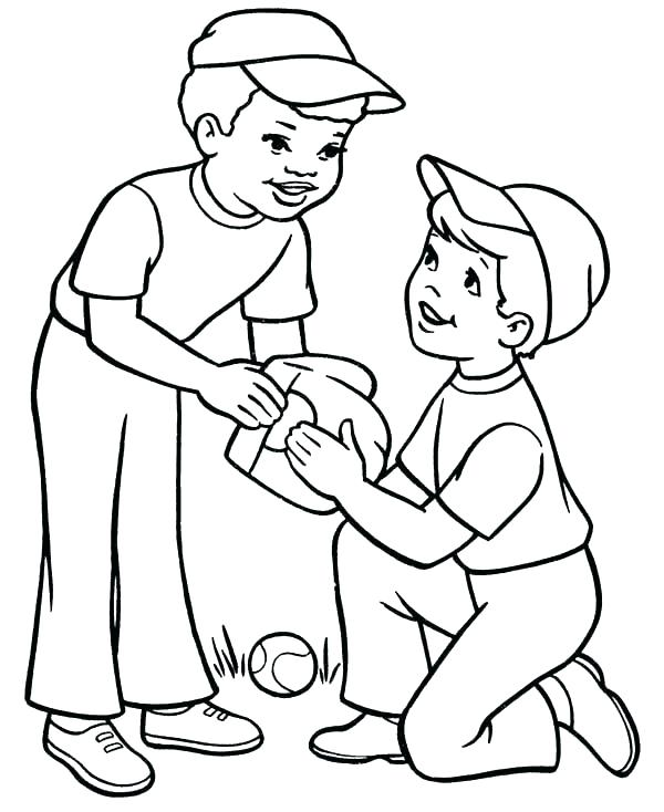 600x734 Coloring Page Boy Boy Coloring Sheet Boy Coloring Pages Sheets